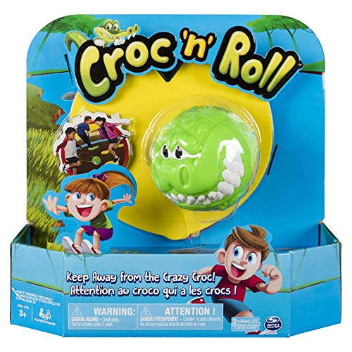 Spin Master Games Croc 'n' Roll - Jeu Familial Amusant pour Les Enfants à partir de 3 Ans