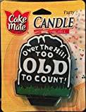 Cake Mate Party Candles, Over the Hill Candle