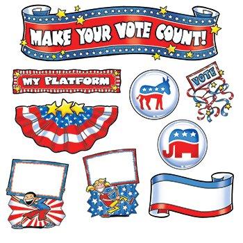 Make Your Vote Count Mini Bulletin Board