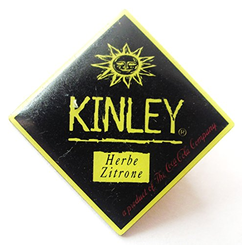 Coca-Cola - Kinley - Herbe Zitrone - Pin 30 x 30 mm