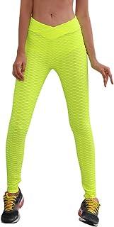 Qootent Women V Waist Yoga Pants Sports Fitness Pants Hips Hip Pleated Trousers