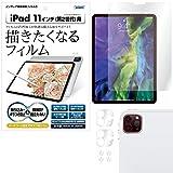 ASDEC iPad Pro 11 2020 フィルム (第2世代) 描きたくなるフィルム 日本製 気泡消失 映込防止 アンチグレア NGB-IPA14/iPadPro11