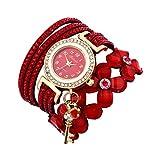 Montre Bracelet Femmes Pas Cher Oyedens Montres Bracelet pour Femme Charme Vintage Weave chaîne Bracelet Femmes Mode...