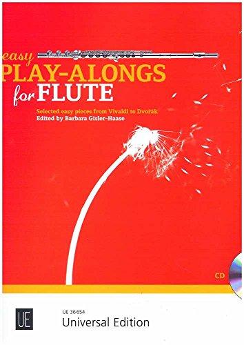Easy Play-Alongs for Flute: 16 bekannte leichte Spielstücke von Vivaldi bis Dvorák