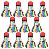 Bolas de bádminton, 11 piezas Bolas de bádminton portátiles coloridas...