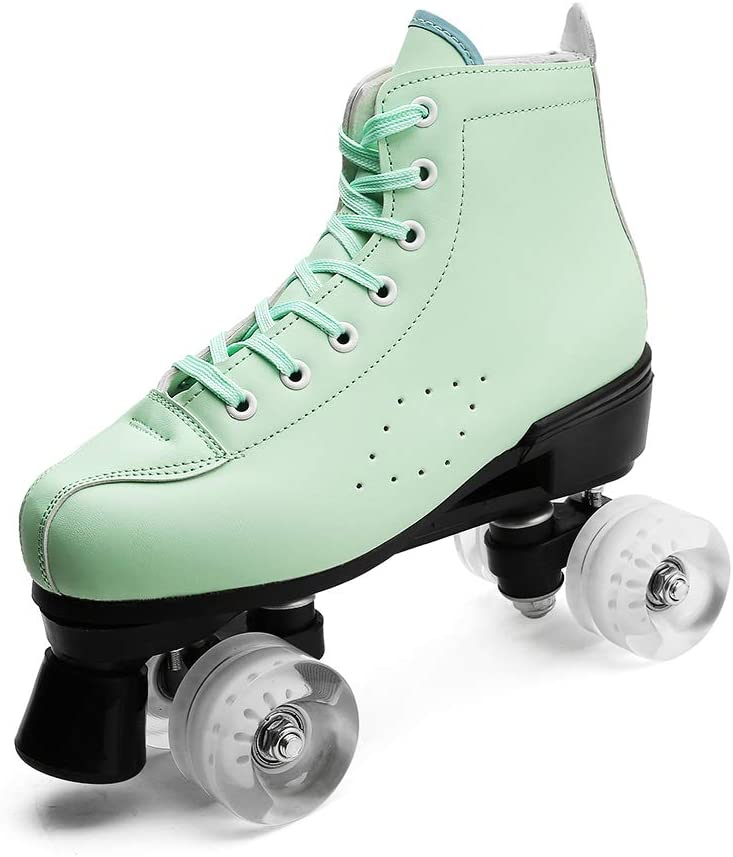 Youth Outdoor Roller Skates Indoor Speed High-top Quad Skate for Girls Women