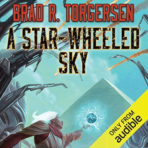 A Star-Wheeled Sky audiobook cover art