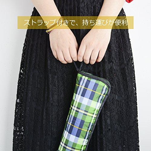『Vanwalk®吸水傘カバー(32cm×11.5cm, タータンチェック1)』の5枚目の画像