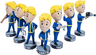 Fallout Vault Boy 76 Bobbleheads Vault-Tec Complete Series 1 - Endurance, Perception, Energy Weapon, Melee Weapon, Strength, Lock Pick and Repair