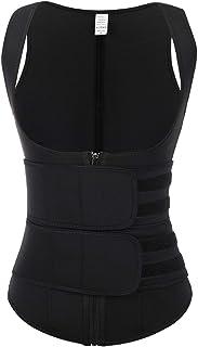 FeelinGirl Women Neoprene Waist Trainer Vest Workout Corset Body Shaper Tummy Fat Burner