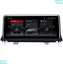 XISEDO 4-core 10.25 Inch Android 7.1 Car Stereo Head Unit RAM 2G ROM 32G GPS Navigation Car Radio for BMW X5 E70/ X6 E71 (2011-2013) Original CIC System Support WiFi, Bluetooth