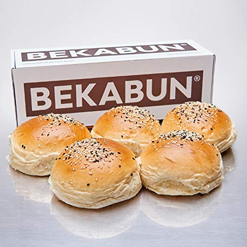 Frische vegane Hamburger Brötchen – BEKABUN No2 – Vegan – Give me 5-Box