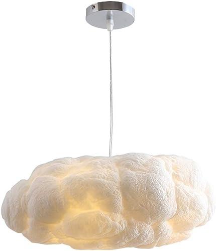 Nordique LED Lustre, Creative Nuage Pendentif Lampe Simple Doux Coton Lampe Fenêtre Café Restaurant Maternelle Magasin De VêteHommests Plafond Moderne Personnalité Flottant Blanc Plafonnier