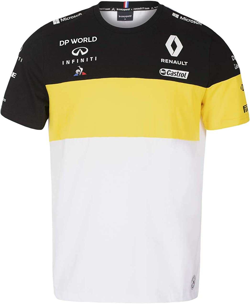 Renault Super special price Directly managed store F1 2020 Men's Team White T-Shirt
