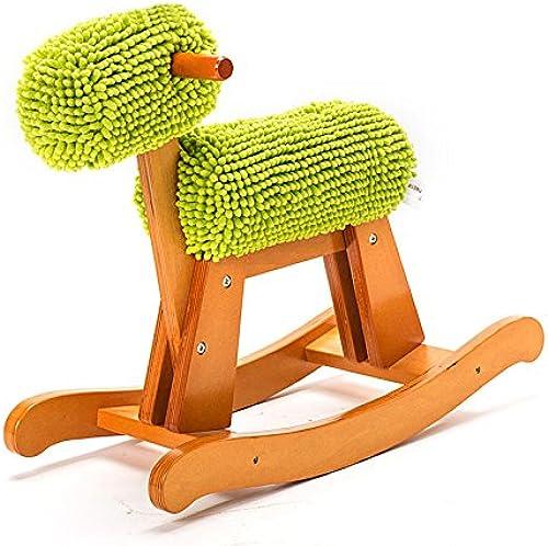 QXMEI Kinder Schaukelpferd Spielzeug Trojaner Schaukelstuhl Spielzeug Baby Geschenk 1-4 Jahre Alt