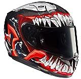 HJC R-PHA-11 Helmet, Hombre, Negro/Rojo, S
