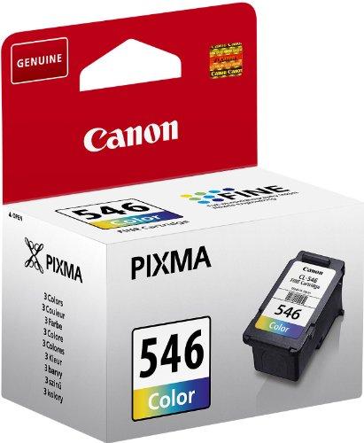 Canon CL-546 Cartucho tinta original Tricolor para Impresora de Inyeccion de tinta MG2150-2155-2250-2255-3150/55-3250/55-3550-3650-3650S-4150-4250-MX375-395-435-455-475-515-525-535S-TS5150-5151