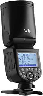 كاميرا Godox V1S الاحترافية فلاش بسرعة ضوء سريع رأس دائري لاسلكي 2.4 جيجا فريسنل زووم لسوني a7RII a7R a58 a99 ILCE6000L a7...