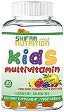 SHIFAA NUTRITION Halal Gummy Vitamins for Kids | 45-90 Days Supply | Has All Essential Kids Vitamins C, D, Zinc, A, E, B6, B12, Biotin | Non-GMO & Vegetarian | Free of Gluten, Gelatin, Peanut & Dairy