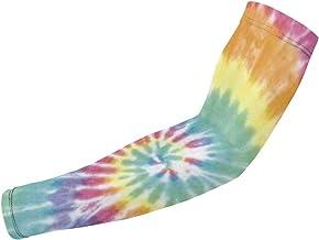 BJAMAJ Multiple Color Tie Dye UV Bescherming Koeling Arm Mouwen Arm Cover Zonbescherming Voor Mannen & Vrouwen Jeugd Prest...
