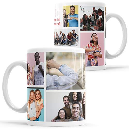 Tasse mit Foto Insta Photo Layout Tasse mit Fotocollage bedrucken