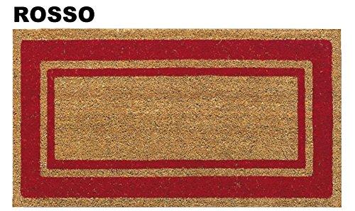 Casatessile Super Felpudo de Coco 40 X 80 - Rosso