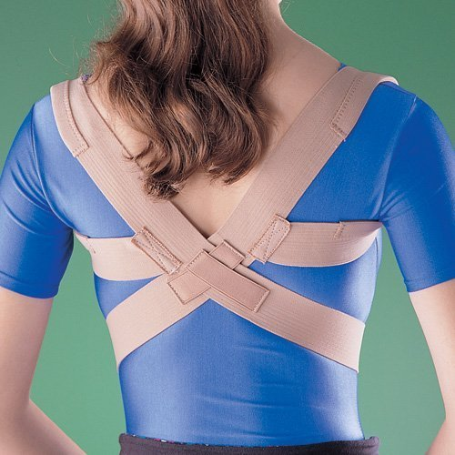 Oppo Medical Elastic Posture Aid/Clavicle Brace (Unisex; Natural), Medium by Oppo Medical