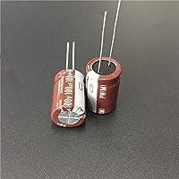 5個100uF 100V NICHICON PWシリーズ13x20mm低インピーダンス100V100uFアルミニウム電解コンデンサ