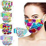 Disposable Face Masks - 50 PCS - For Home & Office - 3-Ply Breathable & Comfortable Filter Face Mask