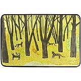 Taoshi Alfombrilla de otoño de Acuarela de Gato de árbol de...