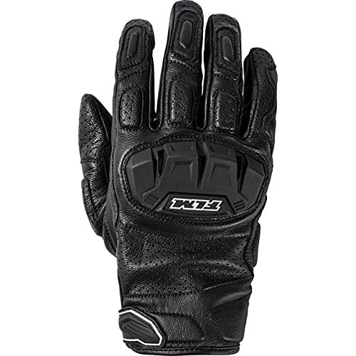 FLM Motorradhandschuhe kurz Motorrad Handschuh Sports Lederhandschuh 11.0 kurz schwarz 8, Herren, Sportler, Ganzjährig