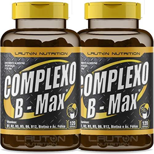 Kit 2 Complexo B Max 120 Capsulas Lauton
