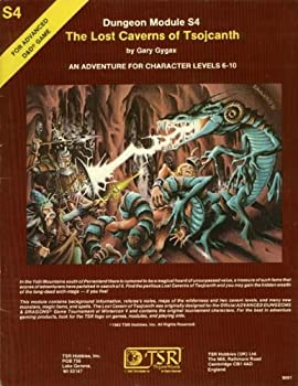 S4 The Lost Caverns of Tsojcanth - Book  of the Advanced Dungeons and Dragons Module #C4