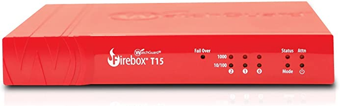 WatchGuard | WGT15083-WW | Competitive Trade in to WatchGuard Firebox T15 with 3-yr Basic Security Suite (WW)