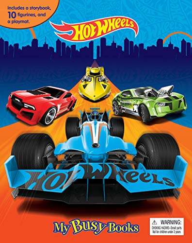 Hot Wheels My Busy Book