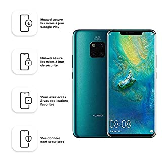Huawei Mate 20 Pro Smartphone débloqué 4G (6,39 pouces - 128 Go/6 Go - Dual SIM - Android) Vert [Version européenne] (B07JH3R26V) | Amazon price tracker / tracking, Amazon price history charts, Amazon price watches, Amazon price drop alerts