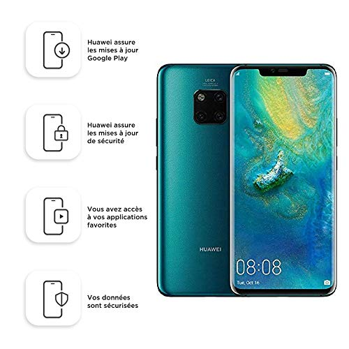 Huawei Mate 20 Pro 128GB Handy, Grün, Android 9.0 (Pie)