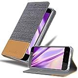 Cadorabo Hülle für HTC U11 Life in HELL GRAU BRAUN -