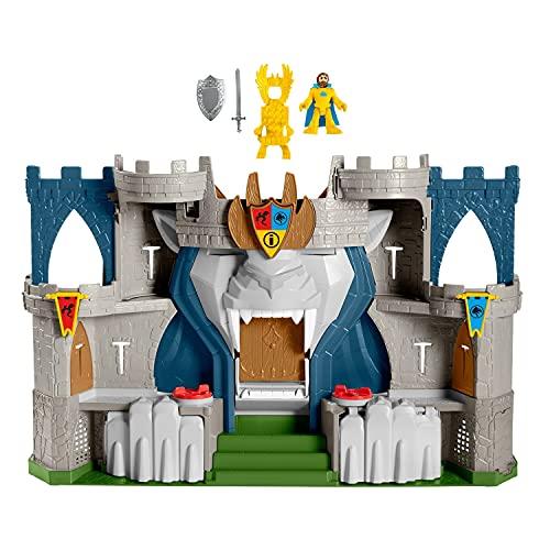 Fisher-Price Imaginext - Playset Castello del Leone con Personaggi a Tema Medievale, con Fortificazioni, Torre e Prigione, Giocattolo per Bambini 3+Anni, HCG45