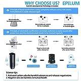 Epilum Purificatori dAria HEPA per Auto con 4 Velocit/à con Display LCD