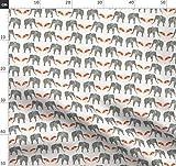 Elefant, Regenschirm, Tier, Leinen, Zirkus, Holli Zollinger