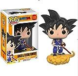 LUGJ Funko Pop Dragon Ball Super Kawaii Q Versión Nendoroid Figura De Anime Somersault Cloud Goku Fi...
