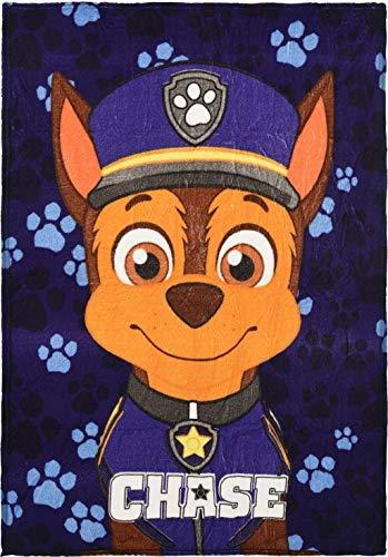 Nickelodeon Paw Patrol Jungen Chase Coral weiche Fleecedecke