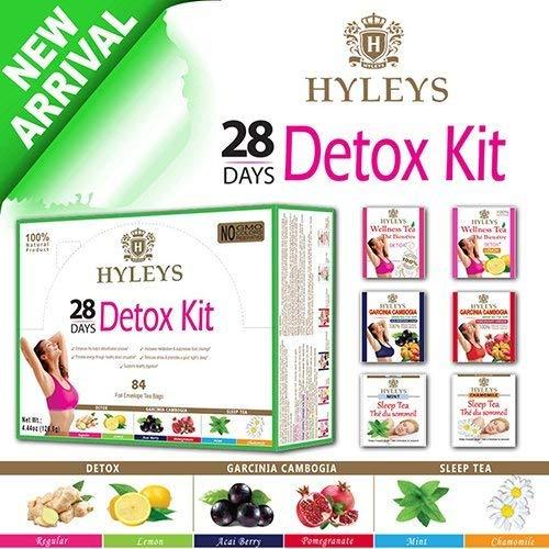 Mua Hyleys Slim 5 Flavor Assortment 25 Tea Bags 100 Natural