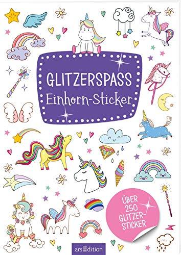 Glitzerspaß - Einhorn-Sticker: Über 250 Glitzersticker (Metallic- und Glitzerspaß)