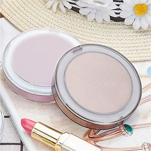 Miroir Cosmétique Petit Rechargeable Pliant LED Miroir de Maquillage, Pocket Make Up Vanity Light Miroir Miroir de Maquillage (Color : Gold, Size : 12.3cm x 12.3cm x 3.5cm)