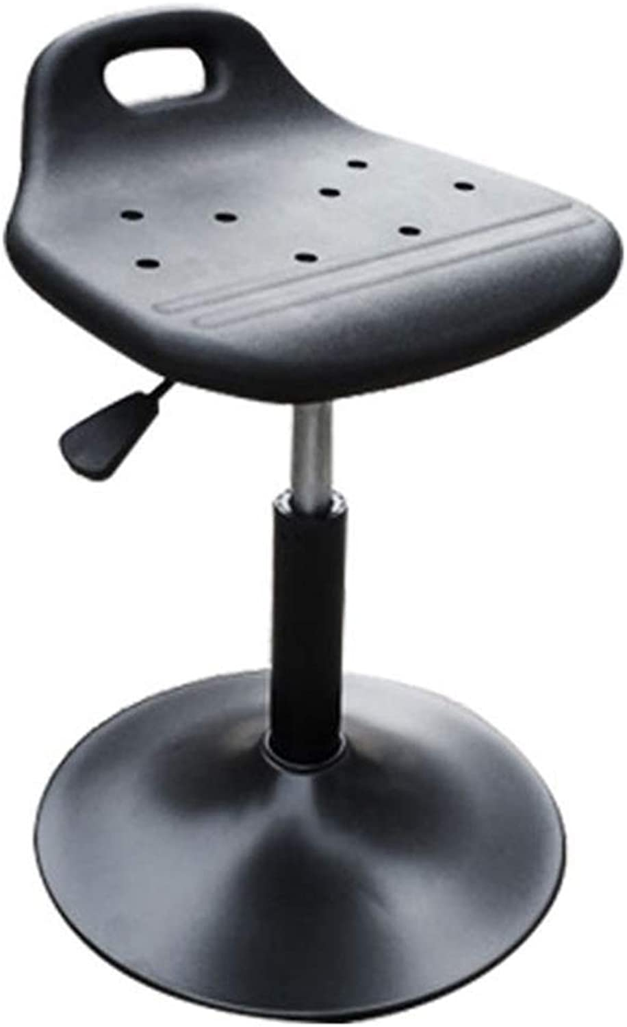 Bar Stool Waterproof Durable Multifunction Plastic Seat Breathable Can Lift redatable JINRONG (Size   A)