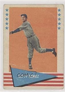 Lefty Gomez Ungraded COMC Good to VG-EX (Baseball Card) 1961 Fleer Baseball Greats - [Base] #34