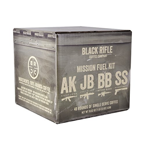 Single Serve Coffee Rounds by Black Rifle Coffee Company | Compatible with K Cup Keurig Coffee Pods | Coffee Pods for All Coffee Lovers (Variety Pack, 48 Count)