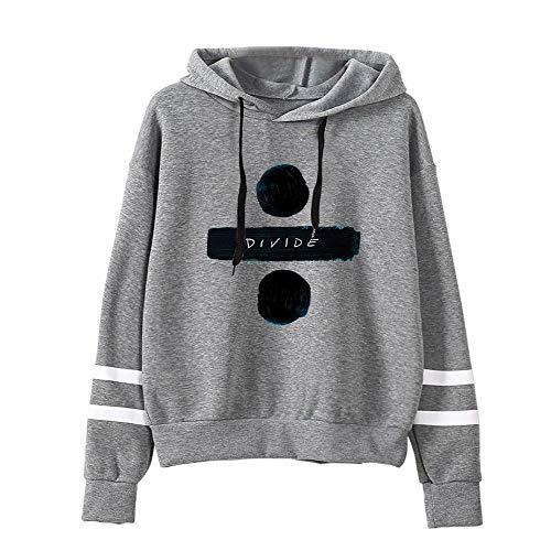 OENKIKIN Ed Sheeran Pullover Art- und Weisetrend-heißer beiläufiger Sport-Pullover-klassischer Art-Baumwollpullover (Color : Grey02, Size : S)